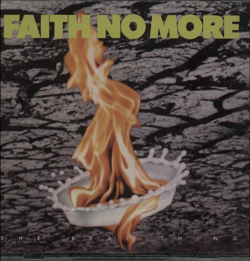 Faith No More The Real Thing CD album (CDLP) UK FNMCDTH579203