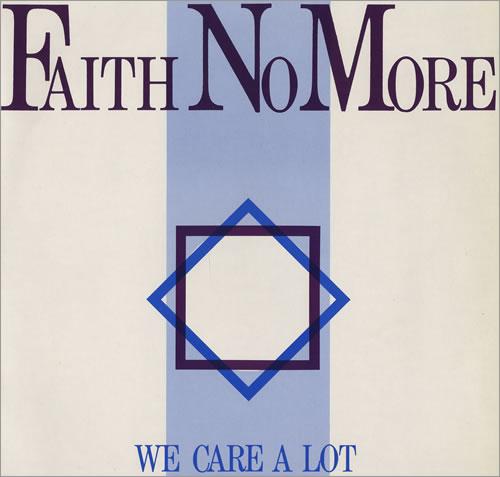 Faith No More We Care A Lot vinyl LP album (LP record) UK FNMLPWE428872