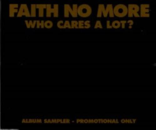 Faith No More Who Cares A Lot? - Sampler CD album (CDLP) UK FNMCDWH125318
