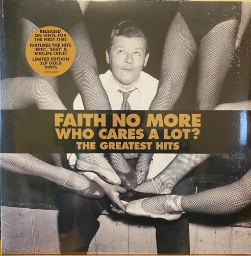 Faith No More Who Cares A Lot? The Greatest Hits - Gold Vinyl - Sealed 2-LP vinyl record set (Double Album) UK FNM2LWH766353