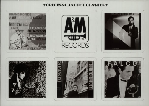 "Falco Rock Me Amadeus - The American Edit + Coasters 12"" vinyl single (12 inch record / Maxi-single) Japanese FAL12RO602891"