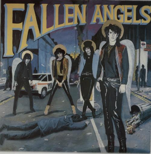 Fallen Angels Fallen Angels vinyl LP album (LP record) UK FKNLPFA591859