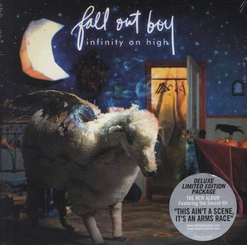 Fall out boy infinity on high 2cd deluxe ltd edition south africa.