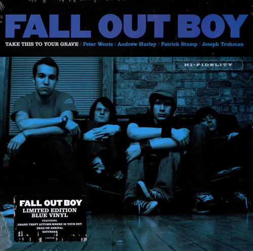 Fall Out Boy Take This To Your Grave Us Vinyl Lp Album Lp