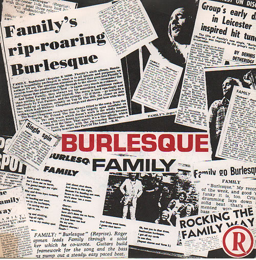 "Family Burlesque - 1982 Issue 7"" vinyl single (7 inch record) UK FML07BU636644"