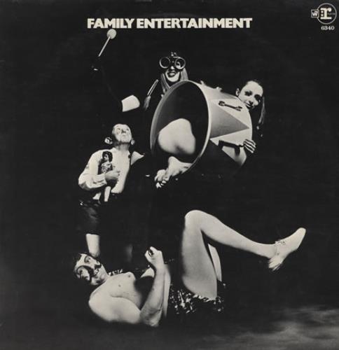 Family Family Entertainment + Poster - EX vinyl LP album (LP record) UK FMLLPFA355804