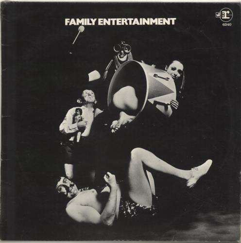 Family Family Entertainment - VG vinyl LP album (LP record) UK FMLLPFA697127