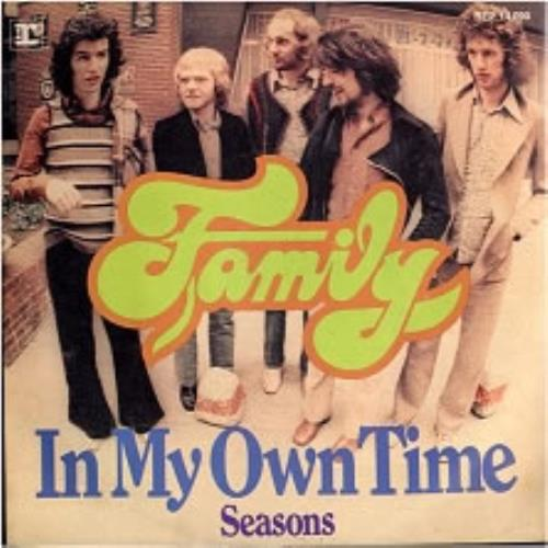 Family In My Own Time German Promo 7 Vinyl Single 7 Inch Record