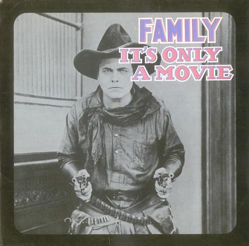 Family It's Only A Movie + Banger vinyl LP album (LP record) UK FMLLPIT530813