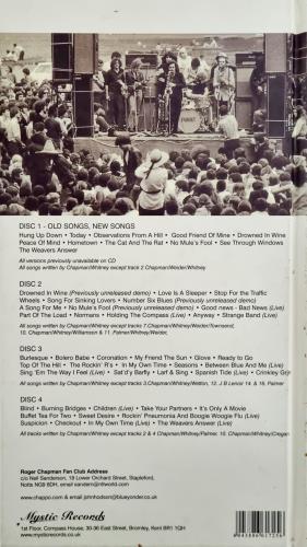 Family Old Songs New Songs 4-CD album set UK FML4COL731628