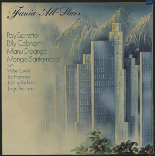 Fania All Stars Fania All Stars vinyl LP album (LP record) UK FN0LPFA452096