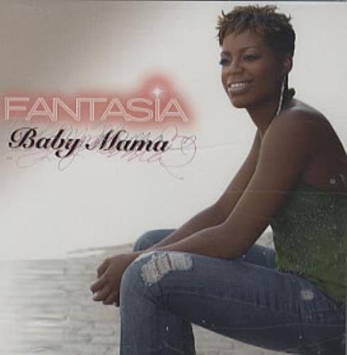 "Fantasia Baby Mama CD single (CD5 / 5"") US FA7C5BA321380"