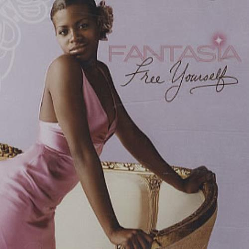 "Fantasia Free Yourself CD single (CD5 / 5"") US FA7C5FR326183"