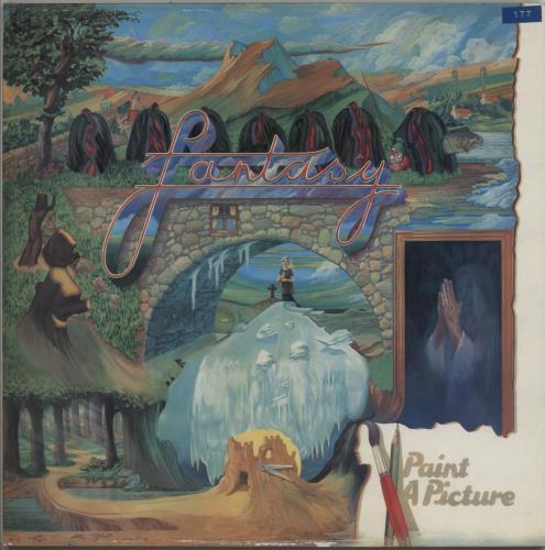Fantasy (Prog) Paint A Picture vinyl LP album (LP record) UK FNYLPPA588449