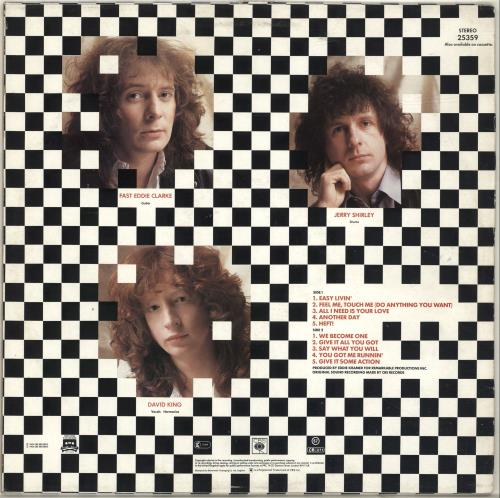 Fastway Fastway - Ex vinyl LP album (LP record) UK FSWLPFA697701