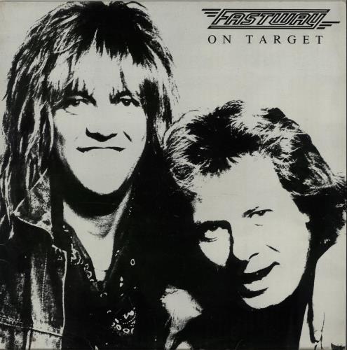 Fastway On Target vinyl LP album (LP record) UK FSWLPON646819