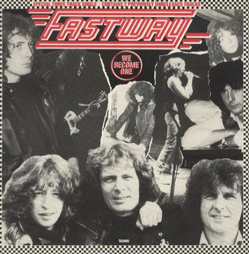 "Fastway We Become One 12"" vinyl single (12 inch record / Maxi-single) UK FSW12WE129161"