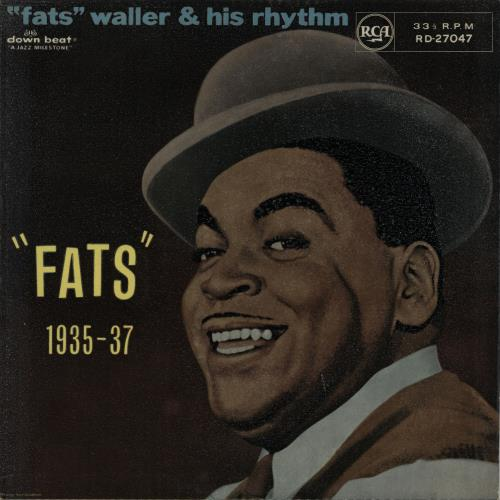"Fats Waller ""Fats"" 1935-37 vinyl LP album (LP record) UK FTWLPFA649981"