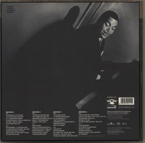 Fats Waller The Last Years 1940-1943 Vinyl Box Set German FTWVXTH708711