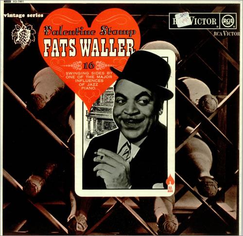 Fats Waller Valentine Stomp vinyl LP album (LP record) UK FTWLPVA448554