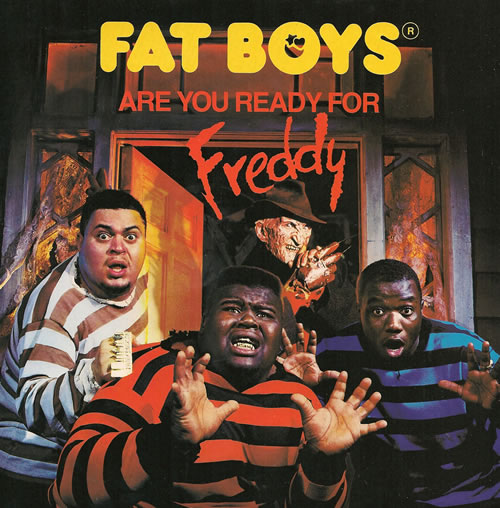 """Fat Boys Are You Ready For Freddy 7"""" vinyl single (7 inch record) UK FTB07AR518310"""
