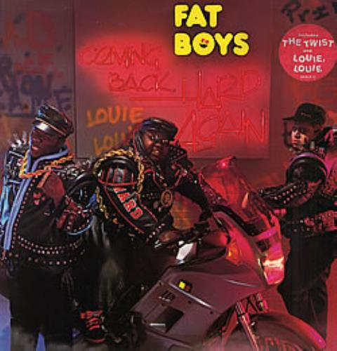 Fat Boys Coming Back Hard Again vinyl LP album (LP record) UK FTBLPCO257555