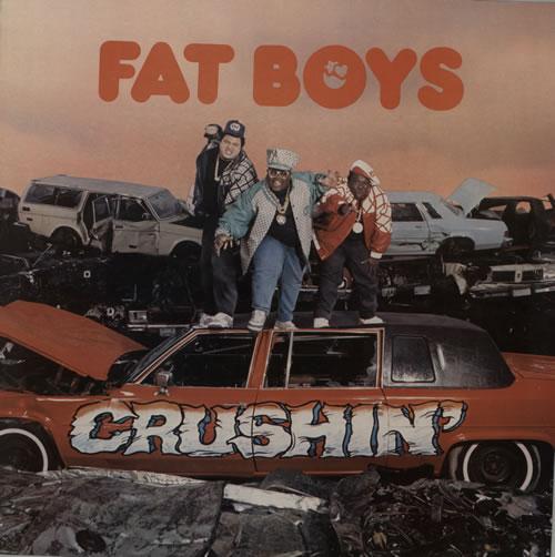 Fat Boys Crushin vinyl LP album (LP record) UK FTBLPCR574957