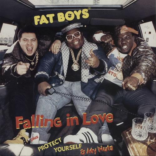"Fat Boys Falling In Love 7"" vinyl single (7 inch record) UK FTB07FA582823"