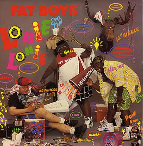 "Fat Boys Louie Louie 12"" vinyl single (12 inch record / Maxi-single) UK FTB12LO301306"