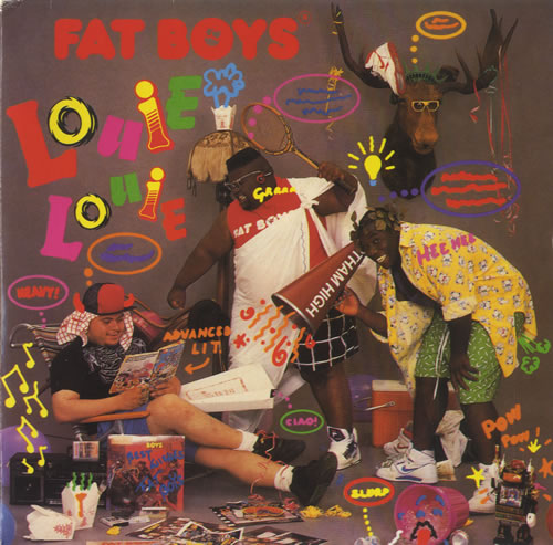"Fat Boys Louie Louie 7"" vinyl single (7 inch record) UK FTB07LO459245"
