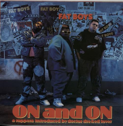 Fat Boys On And On vinyl LP album (LP record) German FTBLPON586441