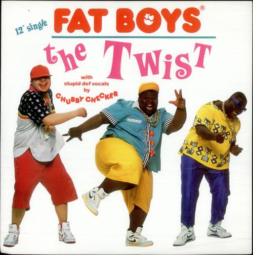 "Fat Boys The Twist 12"" vinyl single (12 inch record / Maxi-single) UK FTB12TH95140"
