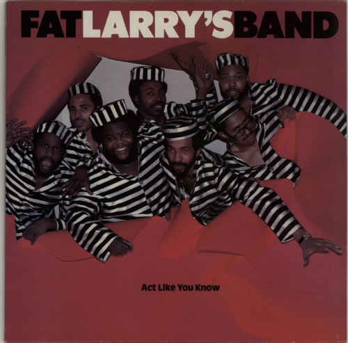 "Fat Larry's Band Act Like You Know 12"" vinyl single (12 inch record / Maxi-single) UK FLR12AC592048"
