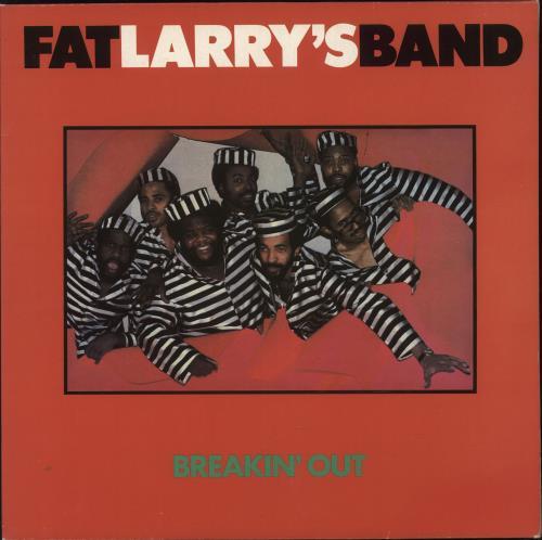 Fat Larry's Band Breakin' Out vinyl LP album (LP record) UK FLRLPBR298803
