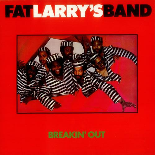 Fat Larry's Band Breakin' Out vinyl LP album (LP record) UK FLRLPBR541849