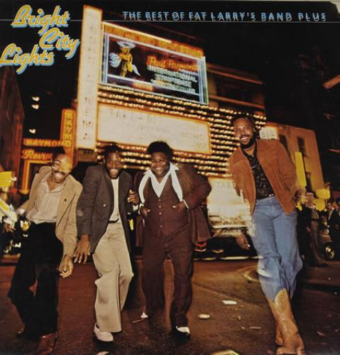 Fat Larry's Band Bright City Lights - Test Pressing vinyl LP album (LP record) UK FLRLPBR358828