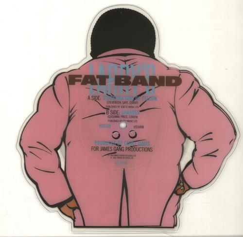 Fat Larry's Band Stubborn Kind Of Fellow shaped picture disc (picture disc vinyl record) UK FLRSHST691858