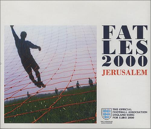"Fat Les Jerusalem CD single (CD5 / 5"") UK FESC5JE208199"