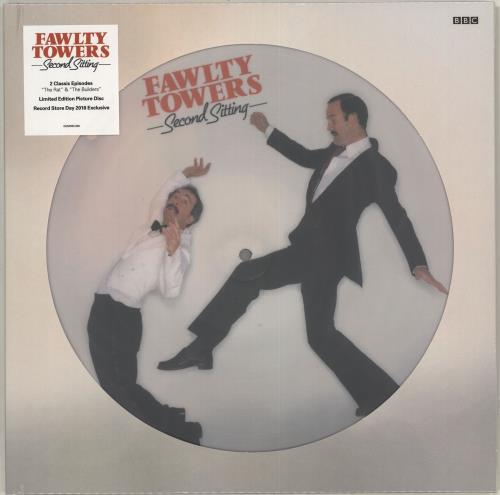 Fawlty Towers Second Sitting - RSD18 - Sealed picture disc LP (vinyl picture disc album) UK FTYPDSE715906