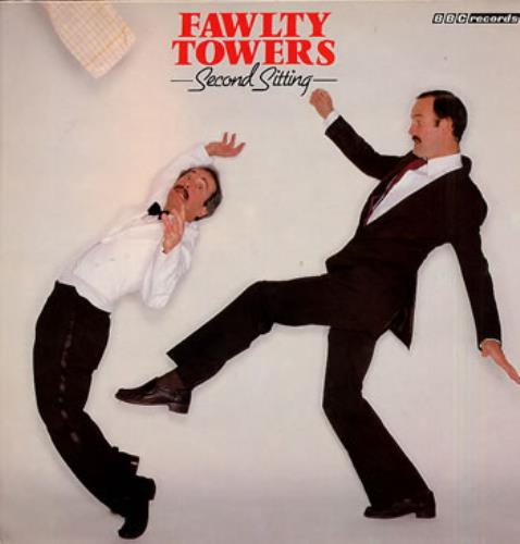 Fawlty Towers Second Sitting vinyl LP album (LP record) UK FTYLPSE251076