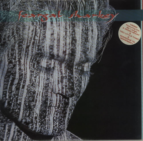 Feargal Sharkey Feargal Sharkey vinyl LP album (LP record) Australian FEALPFE622757