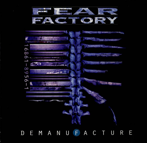 Fear Factory Demanufacture vinyl LP album (LP record) Dutch FFYLPDE553418