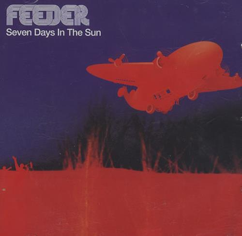 "Feeder Seven Days In The Sun CD single (CD5 / 5"") UK FEEC5SE193077"