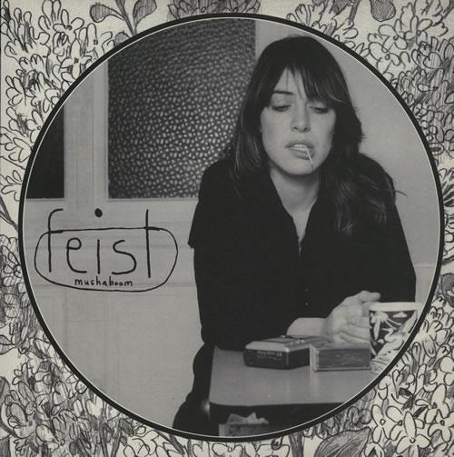 "Feist Mushaboom 10"" vinyl single (10"" record) UK FET10MU575676"