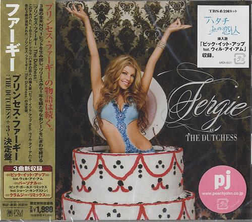 Fergie As The Dutchess CD album (CDLP) Japanese FR6CDAS451194