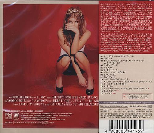 Fergie The Dutchess CD album (CDLP) Japanese FR6CDTH368344