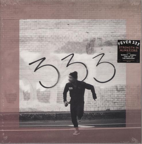 Fever 333 Strength In Numb333rs - Pink Vinyl - Sealed vinyl LP album (LP record) UK 0F3LPST734984