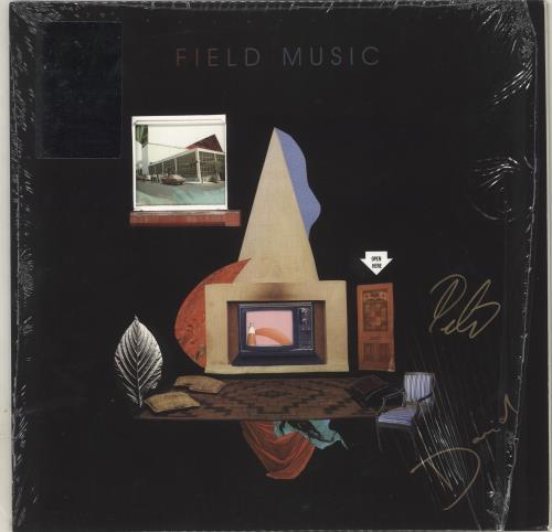 Field Music Open Here - 180gm - Autographed vinyl LP album (LP record) UK FEMLPOP716289
