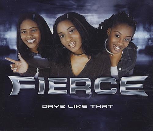 """Fierce Days Like That CD single (CD5 / 5"""") UK IECC5DA388230"""