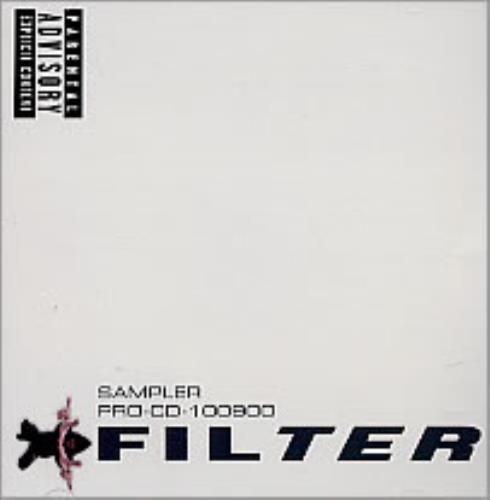 "Filter Sampler CD single (CD5 / 5"") US FILC5SA223797"